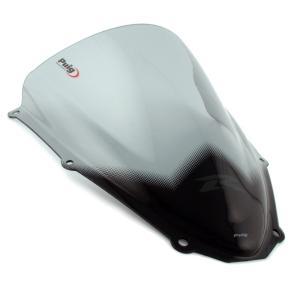 プーチ(Puig) レーシングスクリーン スモーク GSX-R600/750 06-07 4055H|motoparts