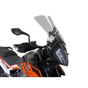 POWERBRONZE FLIP ロング スクリーン ライトスモーク KTM 390 ADV アドベンチャー motoparts