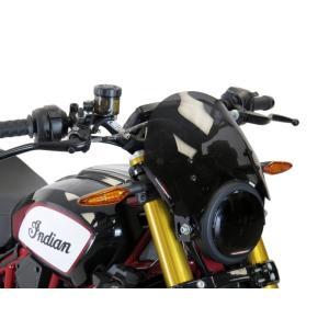 POWERBRONZE ショート スクリーン ダークスモーク INDIAN インディアン FTR1200|motoparts