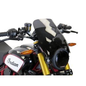 POWERBRONZE ロング スクリーン ダークスモーク INDIAN インディアン FTR1200|motoparts