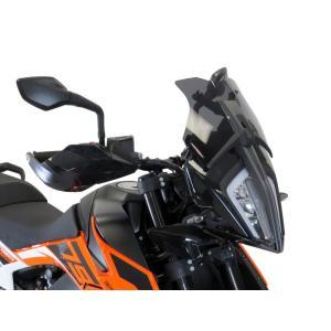 POWERBRONZE ショート スクリーン ダークスモーク KTM 390 ADV アドベンチャー motoparts