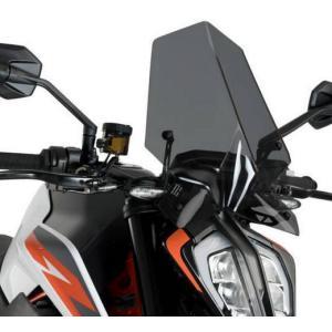 プーチ(Puig) New Generation Sport スクリーン KTM 790/890 DUKE ダークスモーク motoparts
