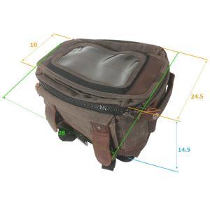 BURLY BRAND ボイジャー タンク/テイルバッグ ダークオーク motoparts