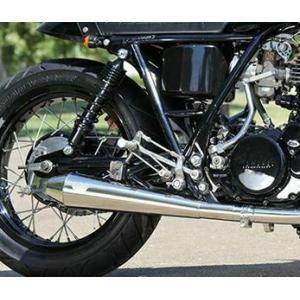 グッズ(GOODS) ESPECIALLY TAPERED CORN スリップオンマフラー SR400/500 09-17 motoparts
