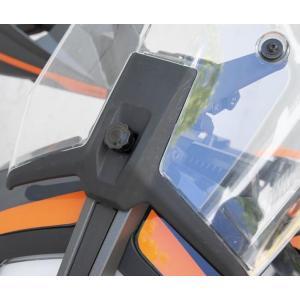 C-RACER ・Hand boll for windshield・KTM 390DUKE ADV アドベンチャー・20- motoparts