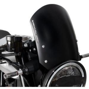 BARRACUDA(バラクーダ) フロントプレート スクリーン ハスクバーナ ヴィットピレン701 ブラック アルミニウム|motoparts