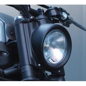 JvB-MOTO Super7 ヘッドライトキット(エンボスレンズ)  フロントマスク/カウル フォークカバー XSR700  MT-07 motoparts