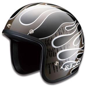 RIDEZ LX ヘルメット FLAMEZ GM|motoparts