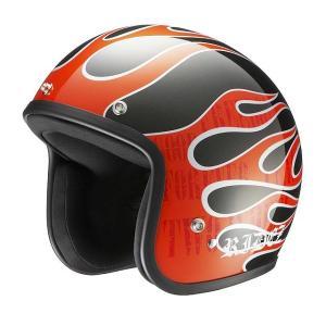 RIDEZ LX ヘルメット FLAMEZ METALLICK|motoparts