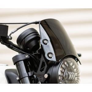 MOTODEMIC Flyscreen Ducati Scrambler ショート|motoparts