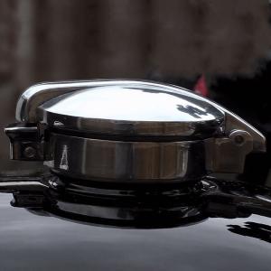 """Motone モンツァ2.5""""ガスタンクキャップ motoparts"""
