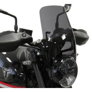 POWERBRONZE ロングスクリーン/ウインドシールド  トライアンフ TRIDENT660/トライデント660 21- motoparts