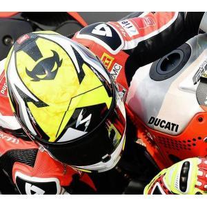 SCORPION(スコーピオン) EXO-R1ヘルメット AirAlvaro Bautista/バウティスタ YELLOW レプリカモデル|motoparts