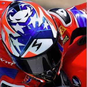 SCORPION(スコーピオン) EXO-R1ヘルメット AirAlvaro Bautista/バウティスタ Laguna Seca レプリカモデル|motoparts