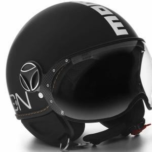 モモ デザイン(MOMO) ジェットヘルメット FGTR EVO マットブラック(MD1001003003)|motoparts