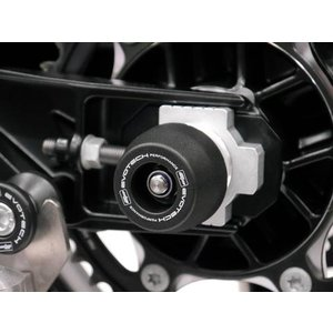 EVOTECH PERFORMANCE スピンドル リア アクスルスライダー ハスクバーナ スヴァルトピレン/ヴィットピレン 701|motoparts