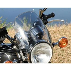 DART Classic ウインドシールド スクリーン SR400 ライトスモーク motoparts