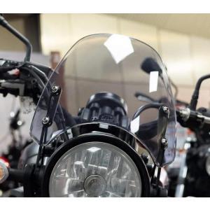 DART Classic ウインドシールド スクリーン XSR700 16- ライトスモーク motoparts
