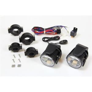 SIRIUS LED FOG LAMP SET ブラック ユニバーサル SINS-2423KB|motor-addiction