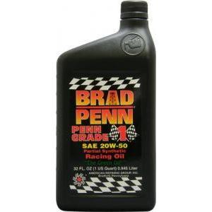 BRAD PENN(ブラッド・ペン)GRADE1 High Performance Oil Partial Synthetic(ブラッドペン 4輪用エンジンオイル)1QT(946ml)