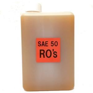 ■ 開発目的  RO'sオイルは、ハーレーダビッドソンやトライアンフを始めとする英国車等、 空冷大排...