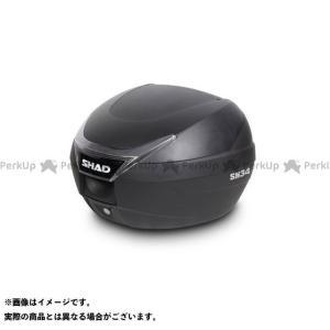 【無料雑誌付き】シャッド SH34 トップケース 無塗装ブラック SHAD|motoride