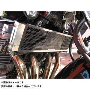 エッチングファクトリー XJR1300C XJR1300/1300SP(99〜16)用 オイルクーラーガード 青エンブレム  ETCHING FAC…|motoride