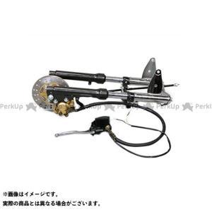 田中商会 ゴリラ モンキー モンキー用φ26フロントフォーク 左側ディスクブレーキキット ブラック480mm   タナカショウカイ|motoride