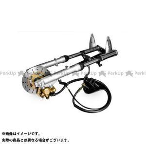 田中商会 ゴリラ モンキー モンキー用φ26フロントフォーク 左側ディスクブレーキキット 550mm   タナカショウカイ|motoride