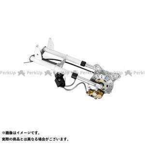 田中商会 シャリィ50 ダックス ダックス用 ノーマルルックフロントフォーク ディスクブレーキキット ホワイト 520mm(ショート)  タナカショ…|motoride
