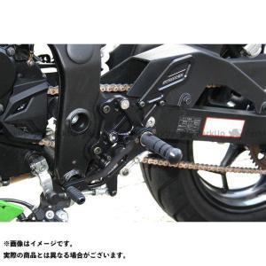ストライカー ニンジャ250SL スペシャルステップキット(ブラック)|motoride