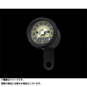 ネオファクトリー ハーレー汎用 48mmアナログスピードメーター オールドフェイス 2:1 -95y 黒|motoride