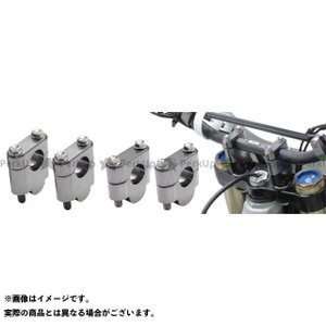 ZETA バーライズキット STDバー(22.2mm)用 高さ:19mm 汎用 motoride