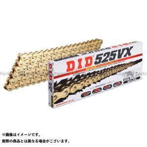 DID ディーアイディー 【特価品】 ストリートチェーン 525VX カシメジョイントタイプ ゴールド 106L|motoride