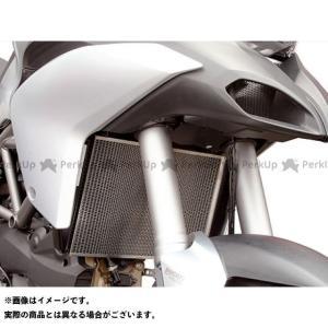 【無料雑誌付き】モトクレイジー オイルクーラーコアガード カラー:シルバー MotoCRAZY motoride