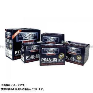 プロセレクトバッテリー Pro Select Battery バッテリー関連パーツ プロセレクトバッテリー PTX4L-BS シールド式|motoride