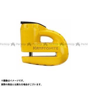 KRYPTONITE 5-S2ディスクロック マットイエロー  クリプトナイト|motoride