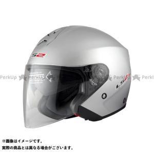 LS2 HELMETS エルエスツー 【売り尽くし】 LS2 FREEWAY(フリーウェイ) ソリッドモデル シルバー L/59-60cm|motoride