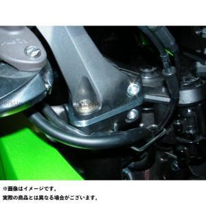 BEET JAPAN ハンドルアップスペーサー 12mmUP カラー:ブラック Ninja 1000 motoride