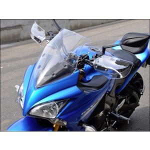 CHIC DESIGN ナックルガード ガイラガントレット カラー:クリア GSX-S1000F motoride