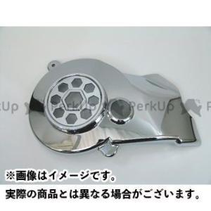 ライズコーポレーション アドレスV125 アドレスV125G アドレスV125S アドレスV125/G/S用 メッキエアファンカバー 六角|motoride