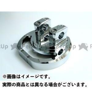メーカー在庫あり ライズコーポレーション マジェスティ マジェスティー250(SG03J)用 メッキ アルミ削り出し ハンドルポスト|motoride