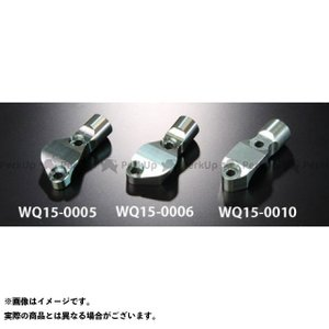 WORKS QUALITY ブレンボミラーホルダー RCSブレーキ/クラッチ(タンクステーなし) ガンメタル 汎用 motoride