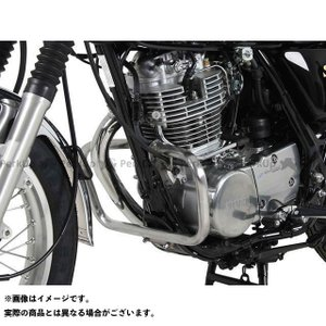 【無料雑誌付き】ヘプコ&ベッカー SR400 エンジンガード(クローム) HEPCO&BECKER|motoride