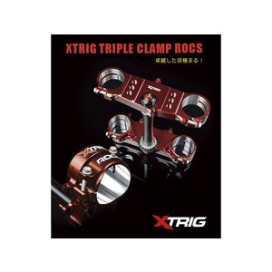 XTRIG TRIPLE CLAMP ROCKS Pro CRF250R CRF450R motoride