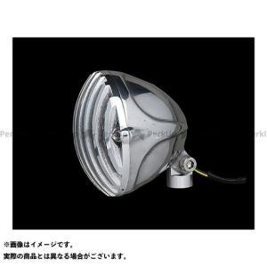 ネオファクトリー ハーレー汎用 4-1/2in バードケージLEDヘッドライト ポリッシュ|motoride