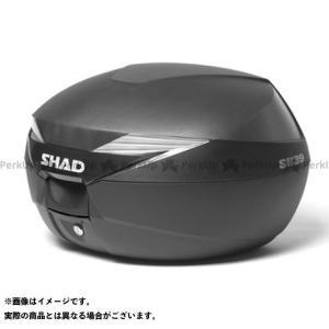 【無料雑誌付き】シャッド 汎用 SH39 トップケース カラー:無塗装ブラック SHAD|motoride