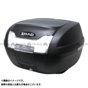 メーカー在庫あり シャッド 汎用 SH40 トップケース 無塗装ブラック|motoride