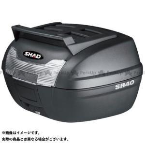 メーカー在庫あり シャッド 汎用 SH40 CARGO トップケース 無塗装ブラック|motoride