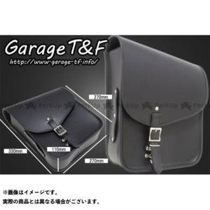 【無料雑誌付き】ガレージT&F サドルバック(ブラック) PVCモデル T&F motoride